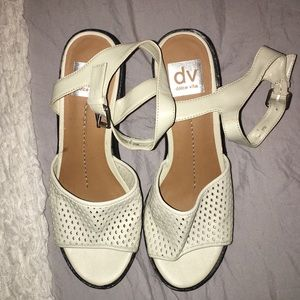 Off white dolce vita heeled sandals
